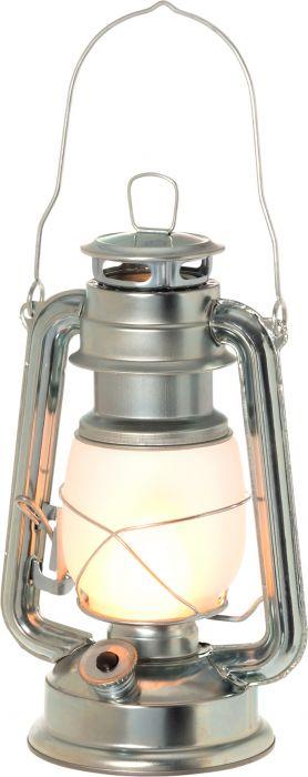 LED-myrskylyhty 24,5 cm sinkki