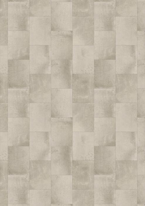 Vinyylimatto Tarkett Essentials 260 Iron Tile Light Grey 4 m