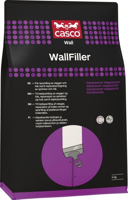 Seinätasoite Casco Wallfiller 3 kg