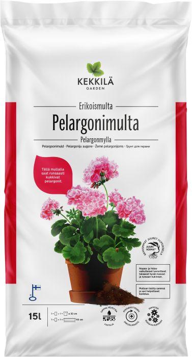 Pelargonimulta Kekkilä 15 l