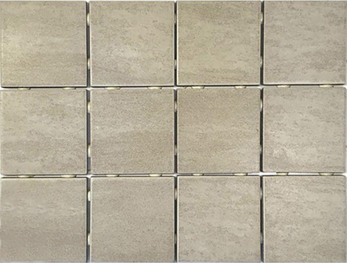 Lattialaatta Alpstone 10 x 10 cm Beige