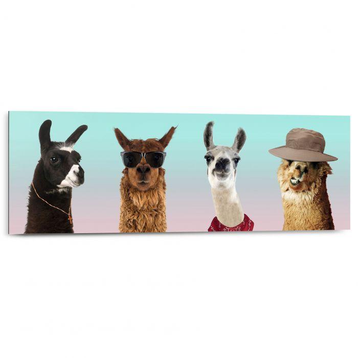 Sisustustaulu Reinders Funny Lamas 30x90 cm