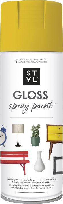 Pintamaali STYL Gloss Yellow 400 ml