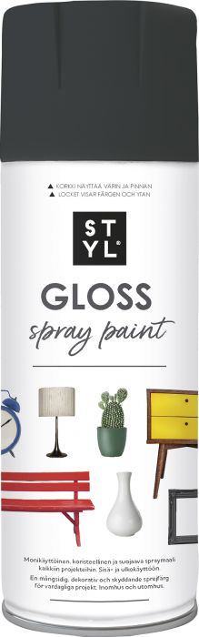 Pintamaali STYL Gloss Anthracite Grey 400  ml