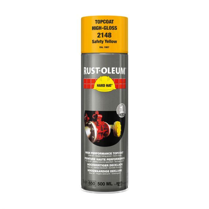 Spray-pintamaali Rust-Oleum Gloss 500 ml Safety Yellow Ral