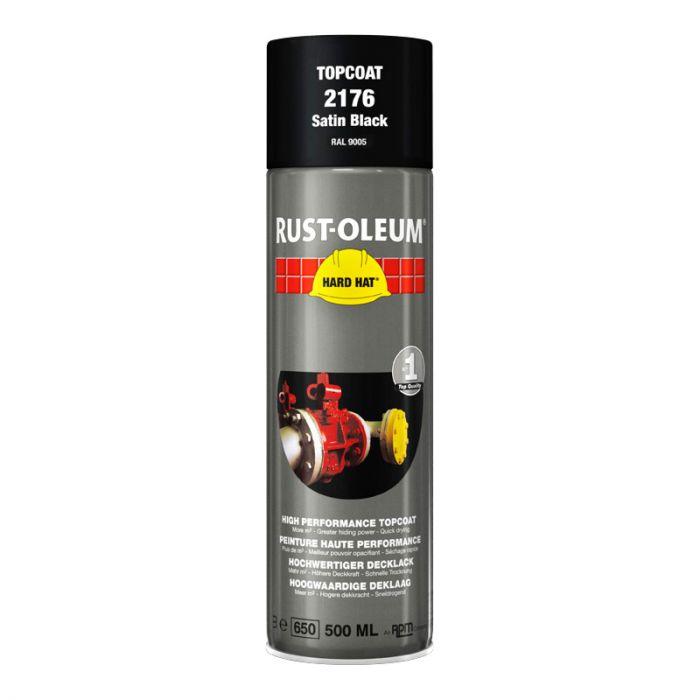 Spray-pintamaali Rust-Oleum Satin 500 ml Black Ral