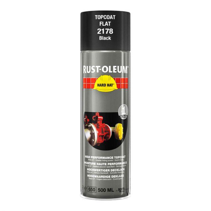 Spray-pintamaali Rust-Oleum Matt 500 ml Black