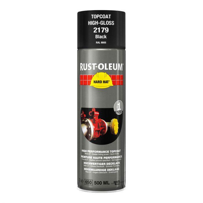 Spray-pintamaali Rust-Oleum Gloss 500 ml Black Ral