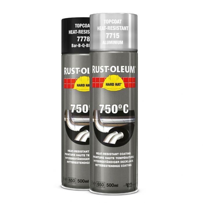 Kuumankestospray Rust-Oleum Musta 750°C