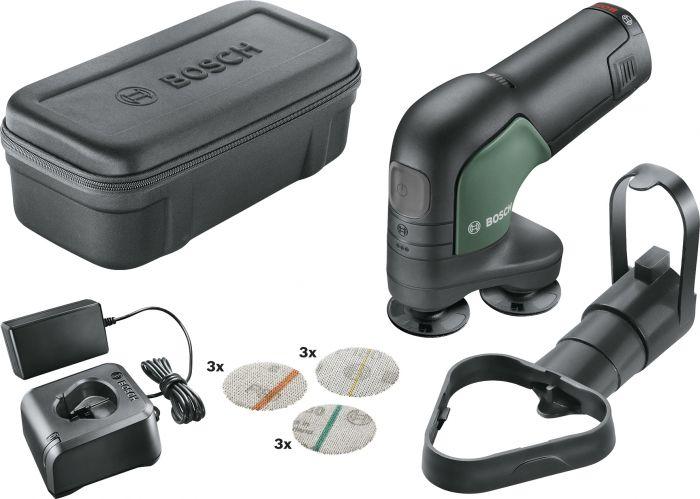 Akkukiillotus- ja hiomakone Bosch EasyCurvSander 12