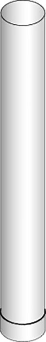 Savuputki Harvia 0,5 m WZ11550