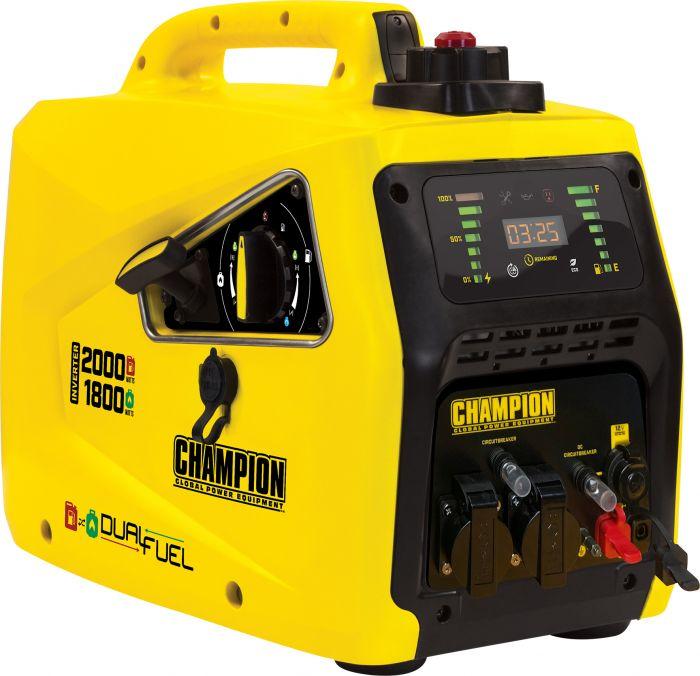 Generaattori Champion Invertteri 82001i 2000 W