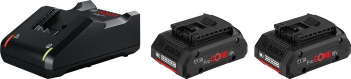 Akku-/laturipaketti Bosch ProCore 18 V 2 x 4,0 Ah