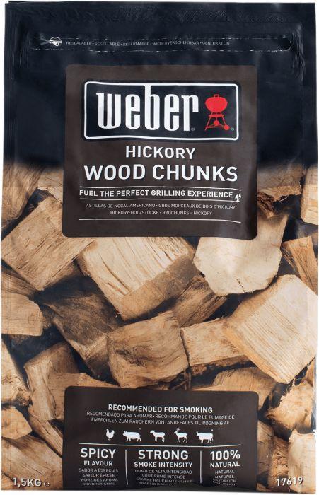 Savustuspalat Weber hikkori 1,5 kg