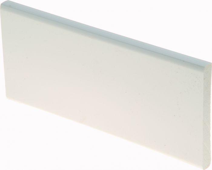 Peitelista Maler PVC Valkoinen 10 x 70 x 2400 mm