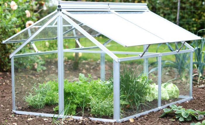 Kasvihuone lavakauluksen päälle 120 x 80 x 72 cm