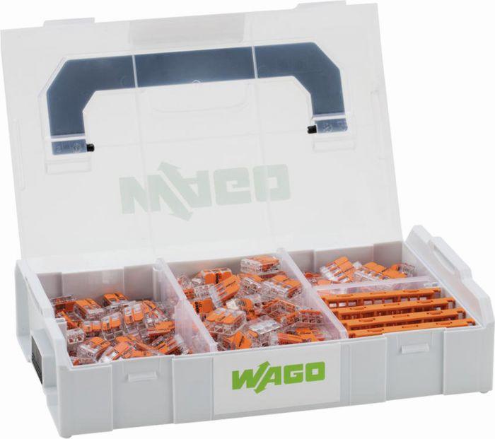 Rasialiitin Wago Lajitelma Mini L-Boxx 221