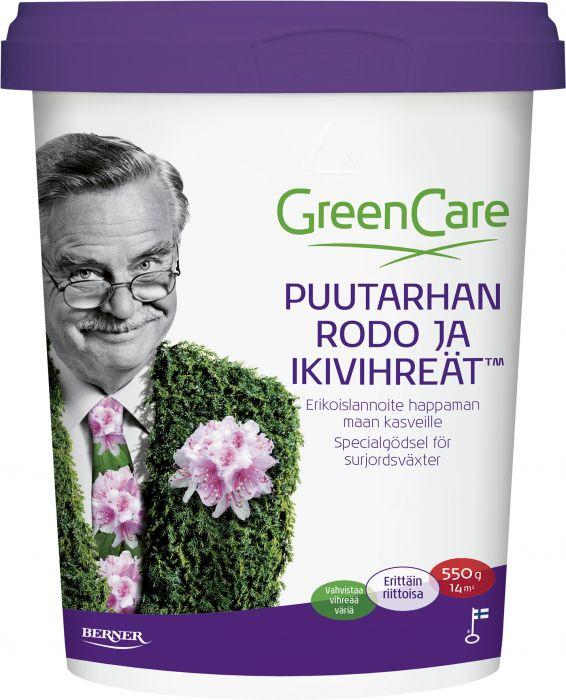 Puutarhalannoite Greencare Rodo ja ikivihreät 550 g