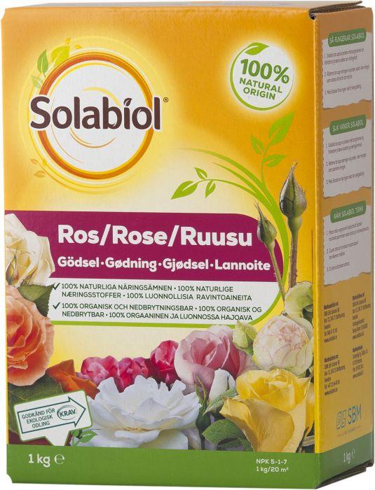 Ruusulannoite Solabiol 1 kg