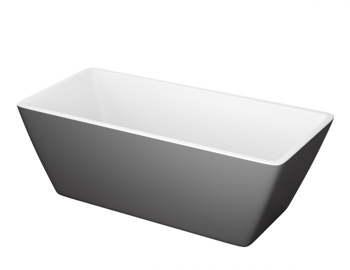 Kylpyamme Camargue Marstrand Valkoinen/harmaa
