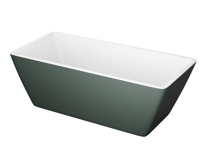 Kylpyamme Camargue Marstrand Valkoinen/vihreä