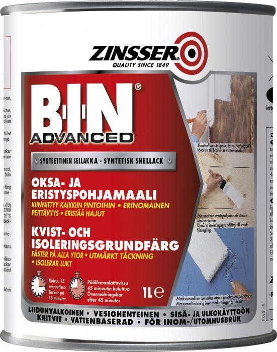 Eristävä Tartuntapohjamaali Zinzzer B-I-N