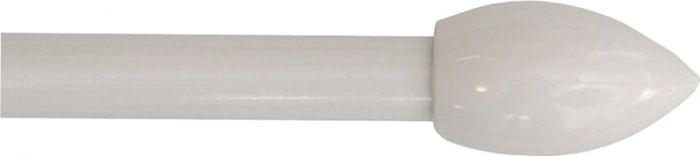 Sänkykatos metalli Valkoinen 65 cm ⌀ 19 mm