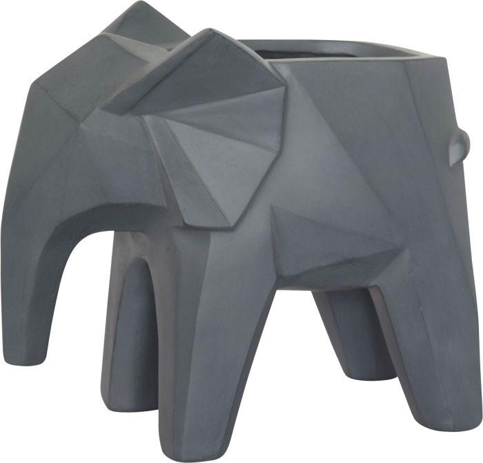 Ulkoruukku Trends elefantti harmaa