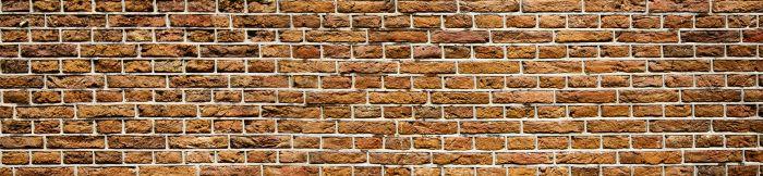 Välitilatarra Old Brick 260 x 60 cm