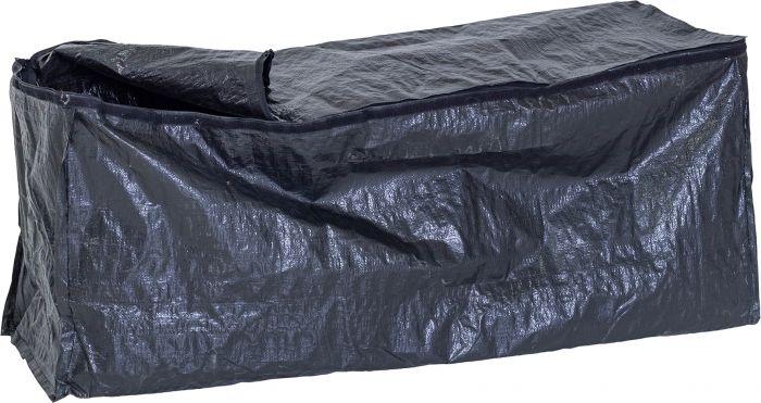 Sisäpussi musta Barbuda säilytyslaatikkoon 130x50x60 cm