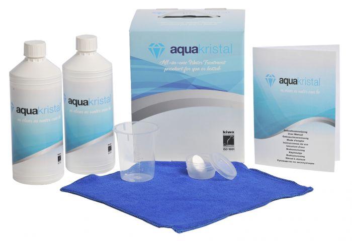 Ulkoporealtaan hoitoainesetti Aqua Kristal (All-in-One)