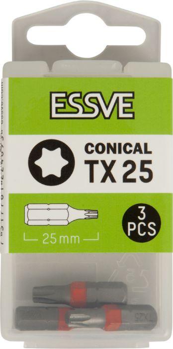 Kärki Essve TX25 25 mm 3 kpl