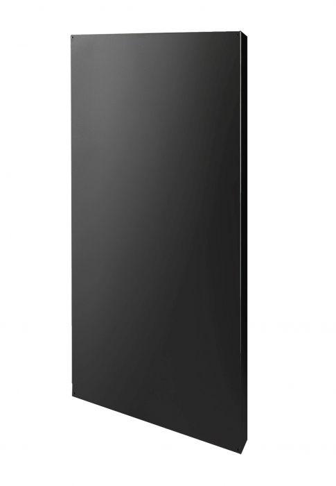 Narvi yksinkertainen suojaseinä Musta 75 cm
