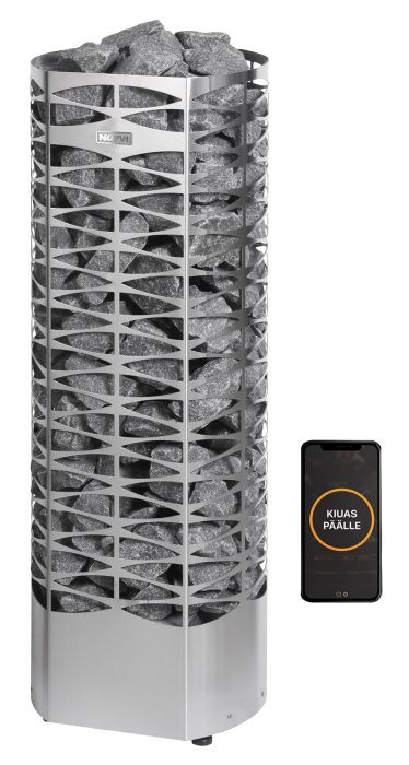 Sähkökiuas Narvi Saana RST Wifi-ohjauspaketilla