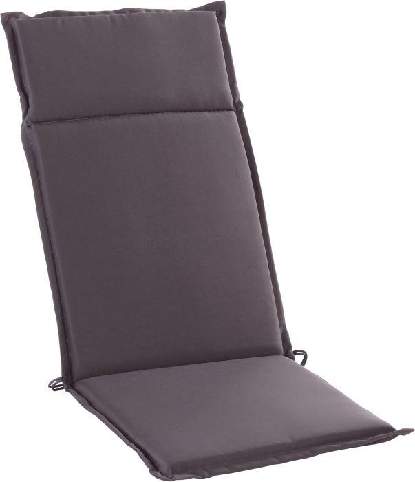 Istuinpehmuste Sunfun Carlton 121 x 47 x 4 cm harmaa