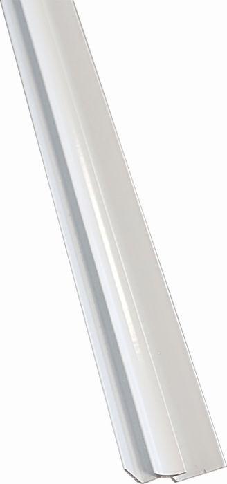 Sisäkulmalista Nordium Stocksund Valkoinen 7V 3000 mm