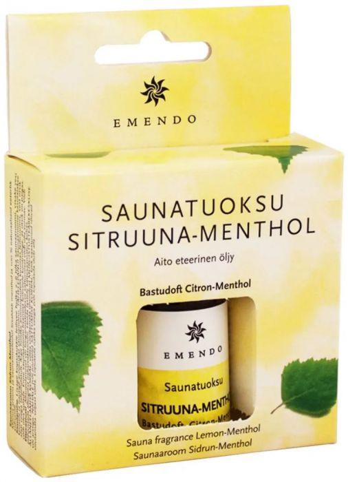 Saunatuoksu Emendo Sitruuna-Menthol 10 m