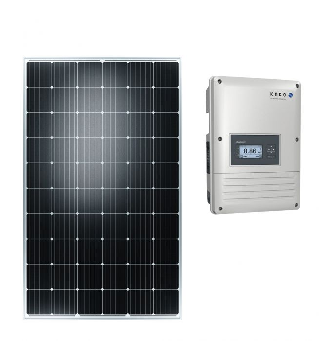 Aurinkopaneeli Kaco Tiilikatto 3kWp