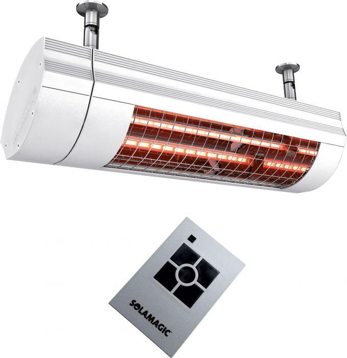 Terassilämmitin Solamagic Eco+Pro ARC 2000W Valkoinen