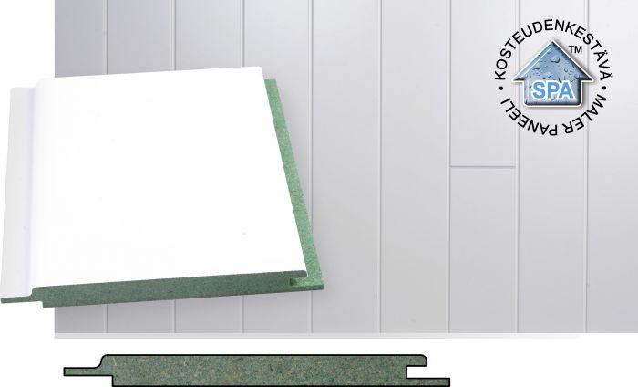Paneeli Maler MDF Kosteudenkestävä STP 10 x 120 x 2070