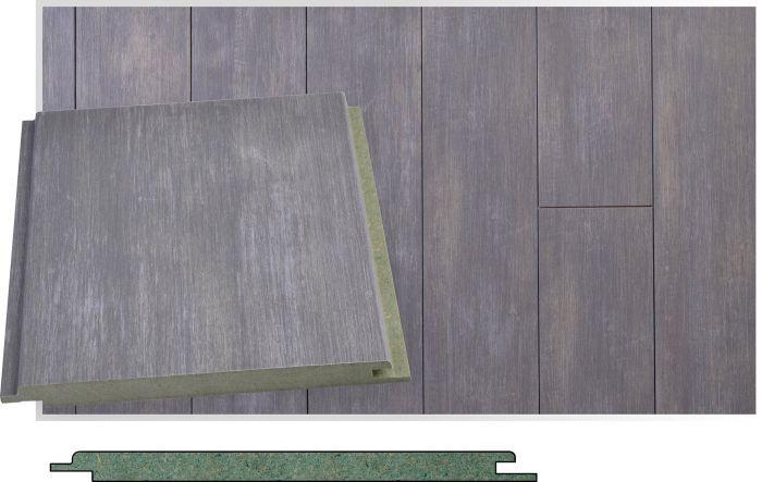 Sisustuspaneeli Maler SPA Tunne harmaa STP-0 10 x 160 x 2070 mm