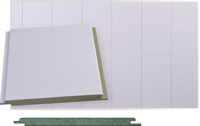 Kattopaneeli Maler SPA Tunne Valkoinen STP 10 x 160 x 2070 mm
