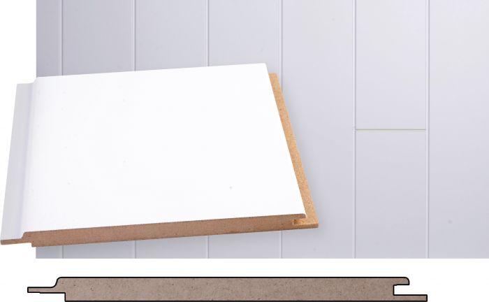Kattopaneeli Maler MDF Puhdas Valkoinen STP 10 x 160 x 2070