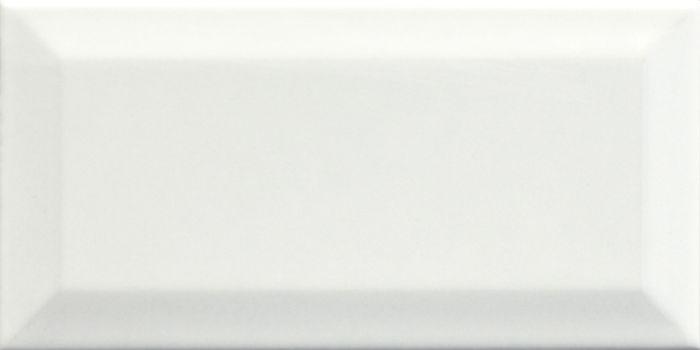 Seinälaatta Metro 10 x 20 cm Valkoinen