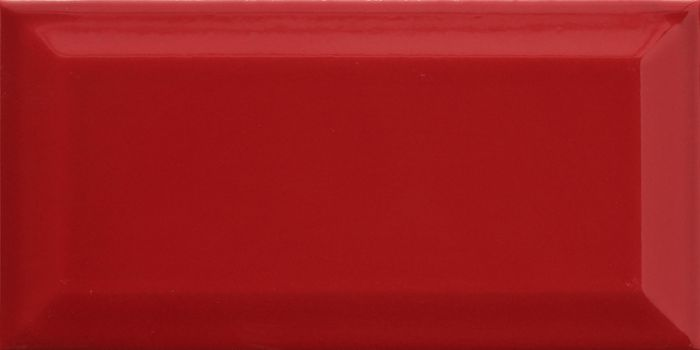 Seinälaatta Metro 10 x 20 cm Punainen