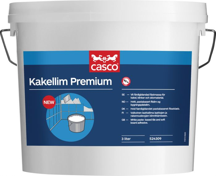 Kaakeliliima Casco Premium 3 L