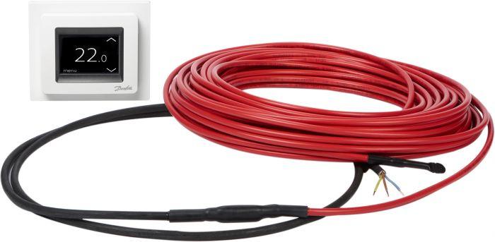 Lattialämmityssetti Danfoss ECflex 10T 205W 230 V ECtemp Touch