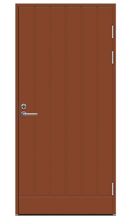 Ulko-ovi Jeld-Wen Function F1894 Tiilenpunainen