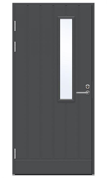 Ulko-ovi Jeld-Wen Function F1894 W22 Tummanharmaa