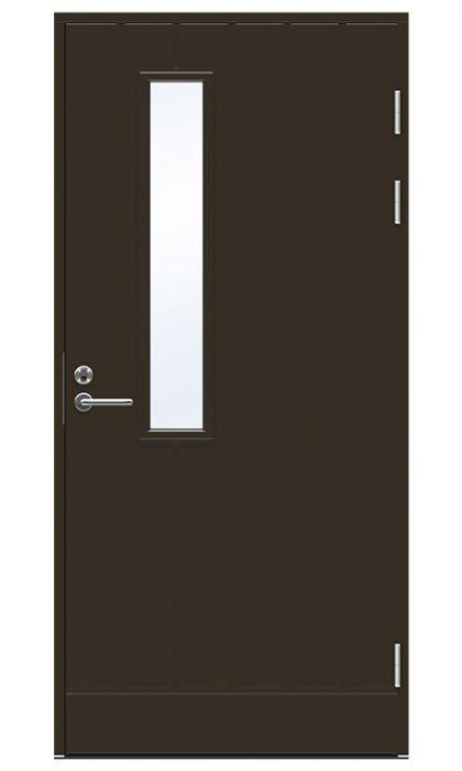 Ulko-ovi Swedoor Function F1894 W22 Tummanruskea